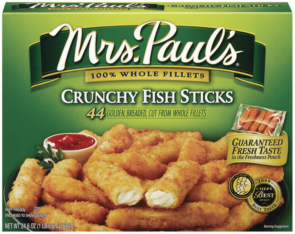 Van de kamp 39 s and mrs paul 39 s seafood review giveaway for Fish stick brands