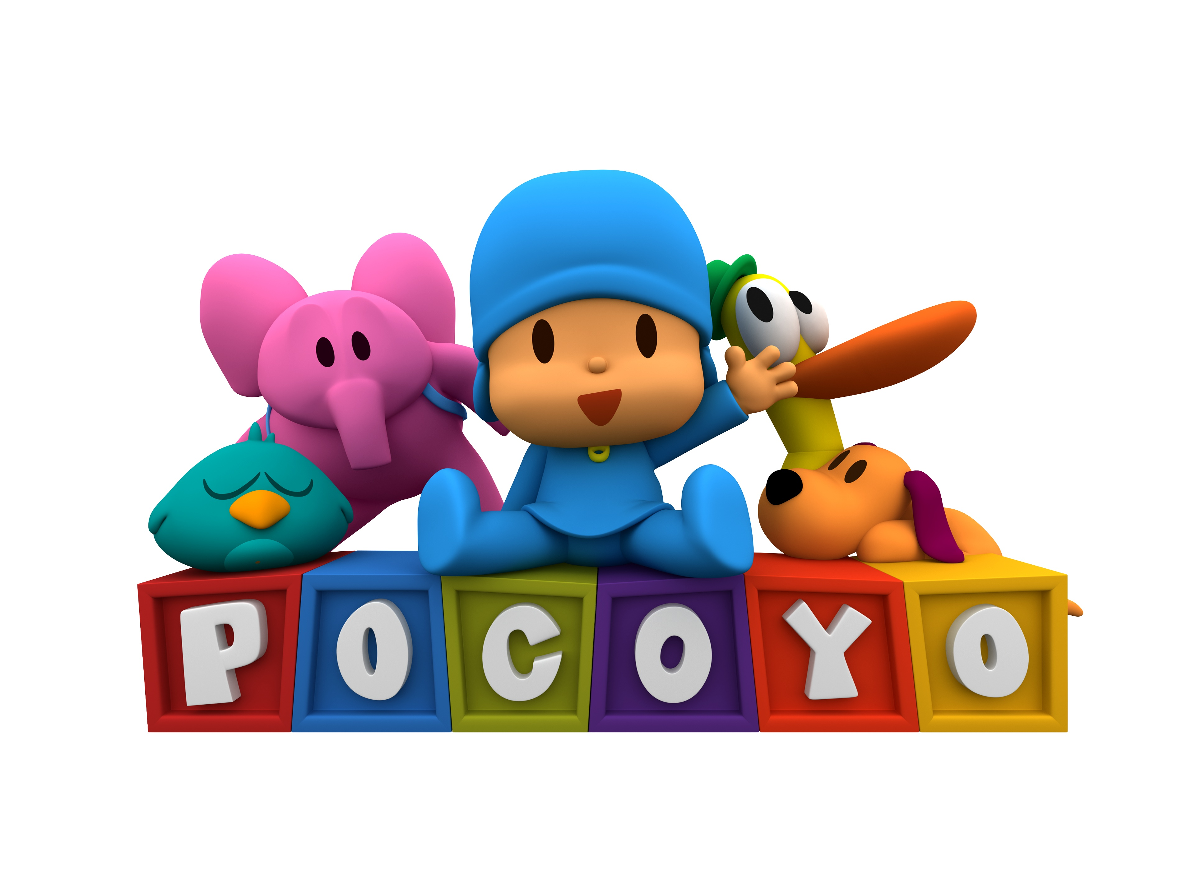 Pocoyo and Friends Coloring Ipad App - No Time Mommy