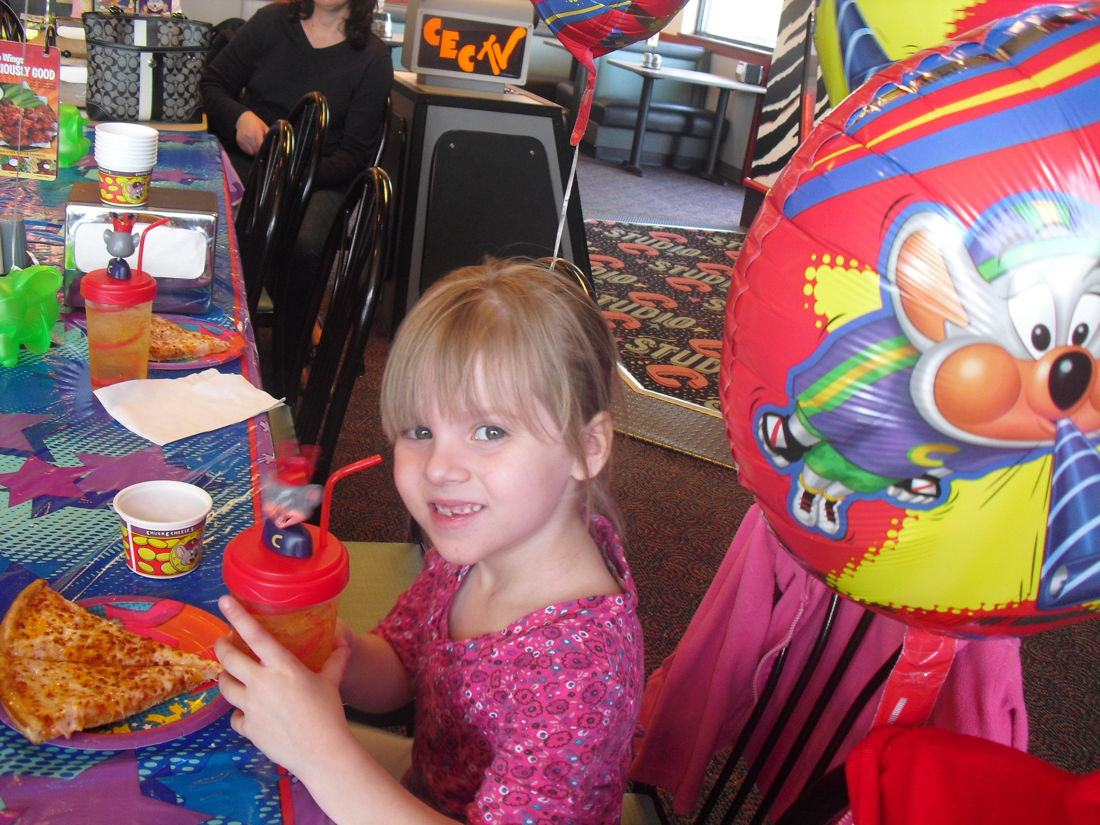 chuck e cheese birthday parties