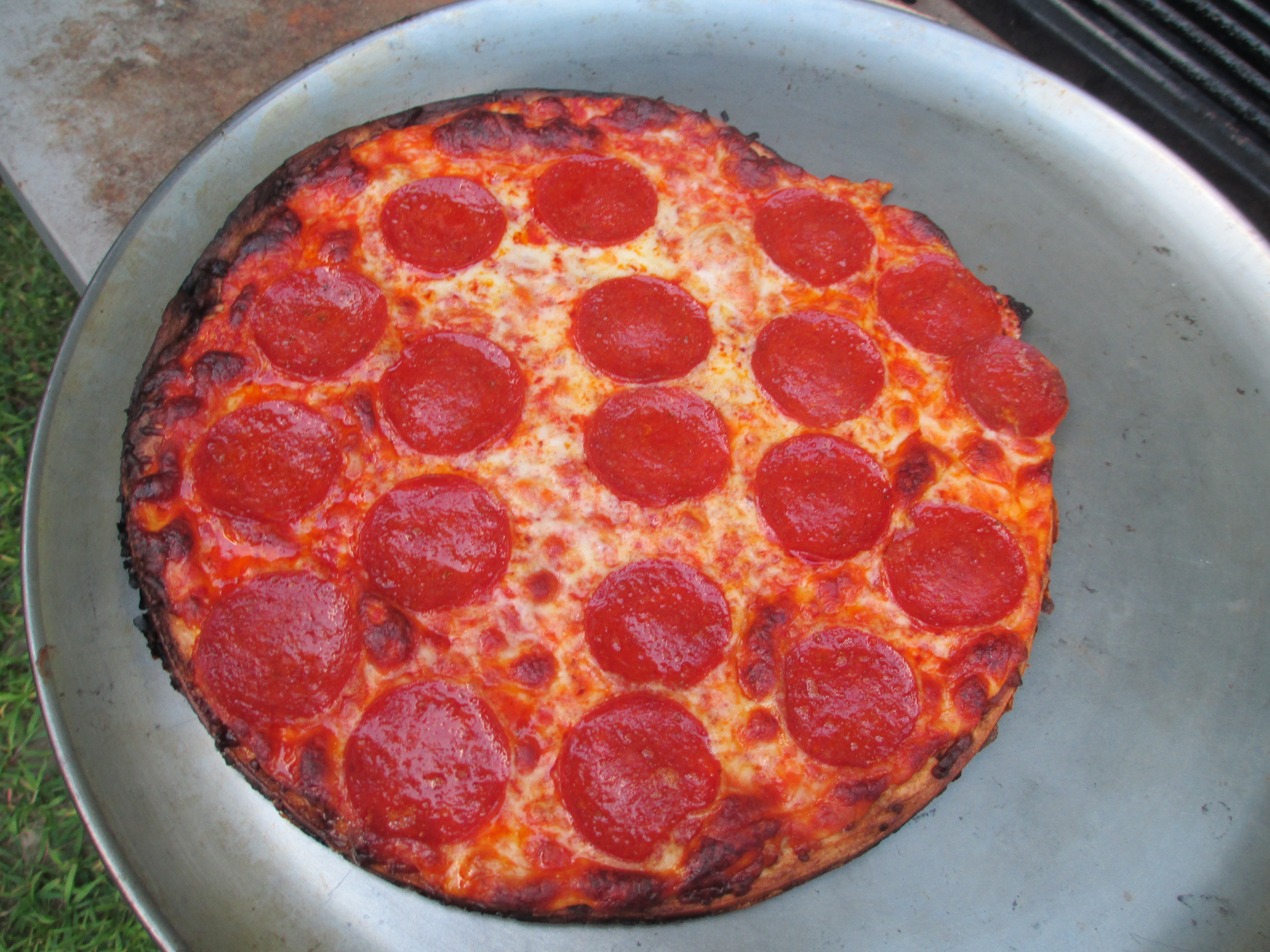 grilling just got easier with jacks pizza no time mommy