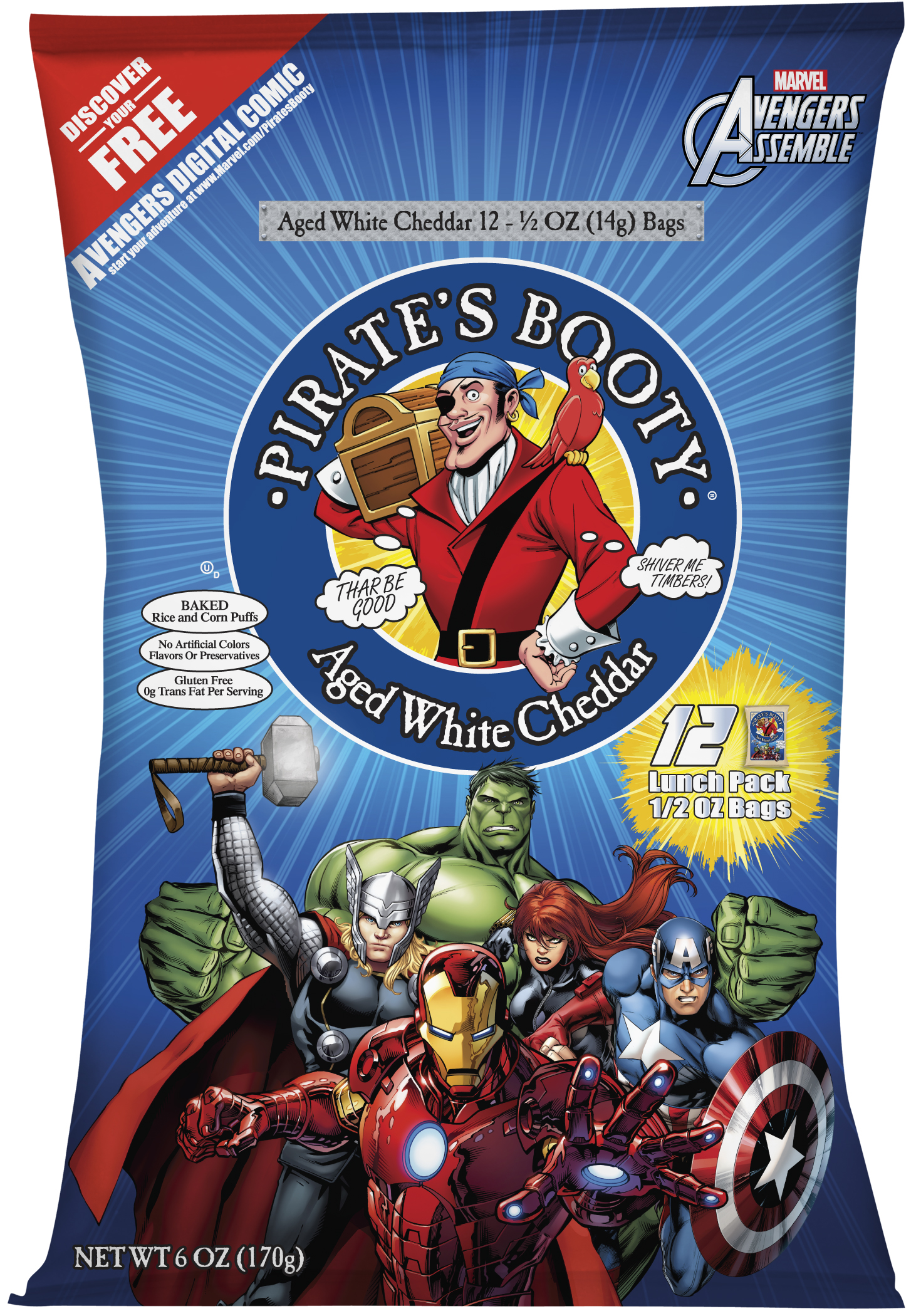 Pirate's Booty Marvel Multipack