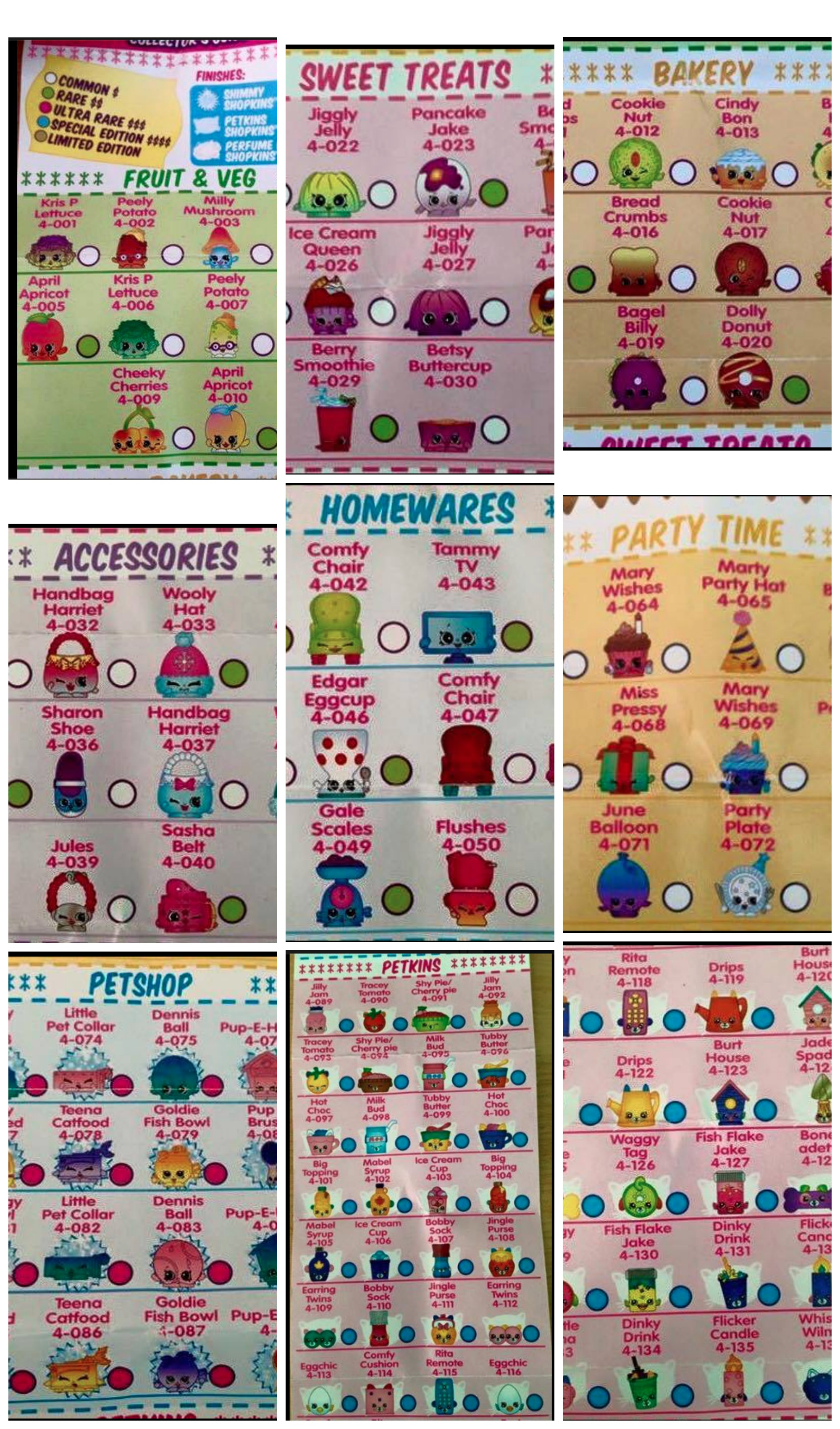 Introduced Shopkins Season 4 PicMonkey Collage