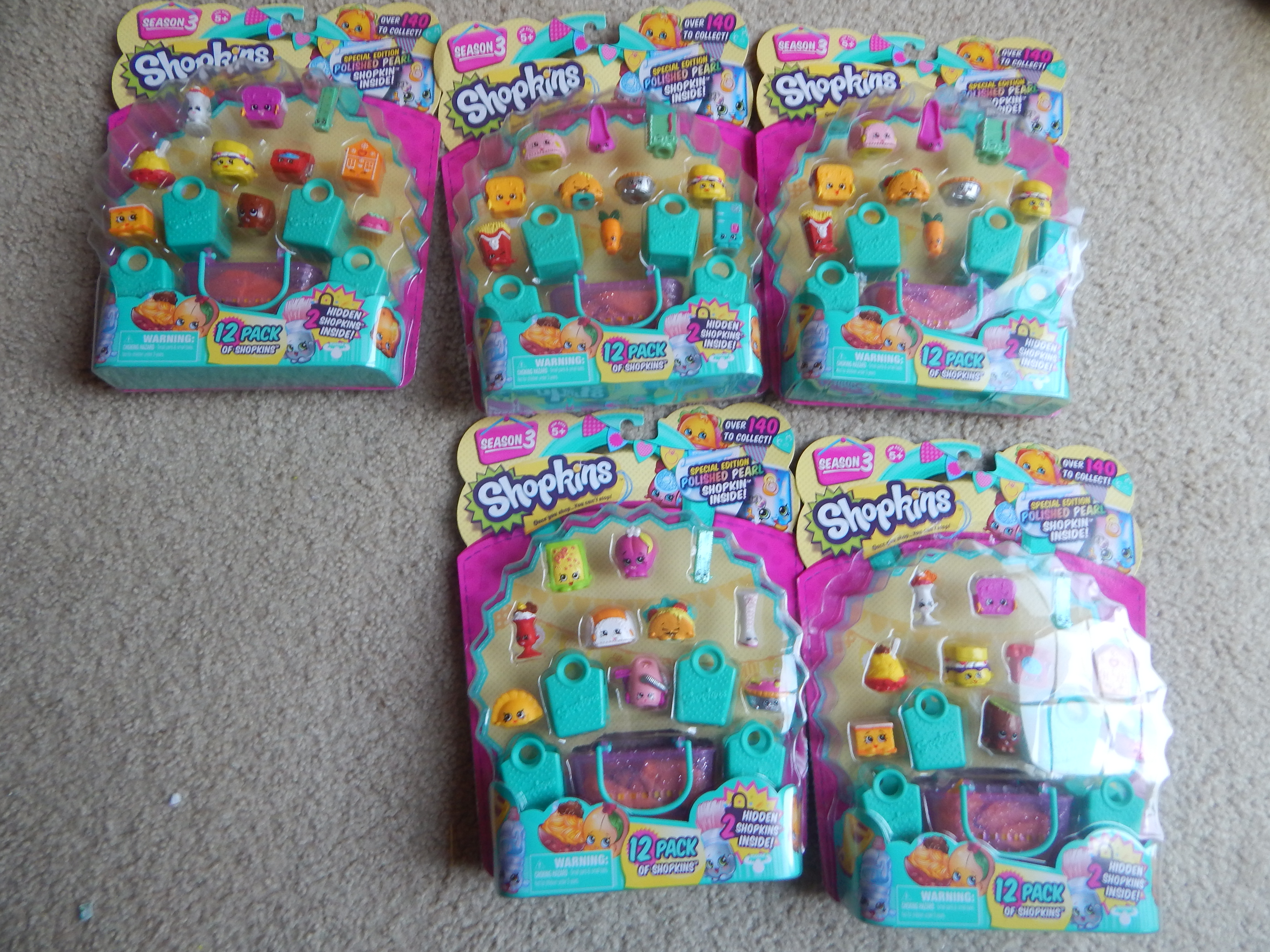 Season 3 Shopkins Are Here No Time Mommy
